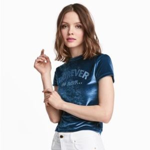 Forever or Never Cropped Shirt